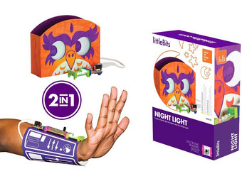 littleBits Hall of Fame Kit Night Light