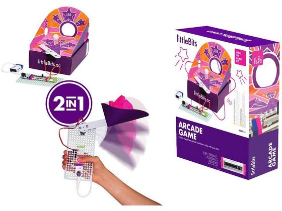 Korting littleBits Hall of Fame Kit Arcade Game