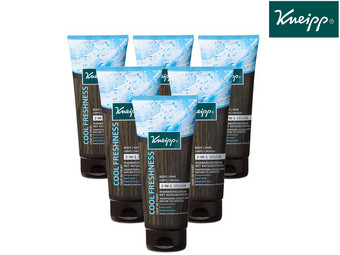 6x żel Kneipp Cool Freshness | 200 ml