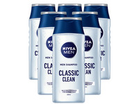 6x Nivea Men Shampoo Classic Clean | 250 ml