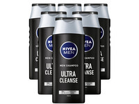 6x Nivea Men Ultra Cleanse Haarshampoo