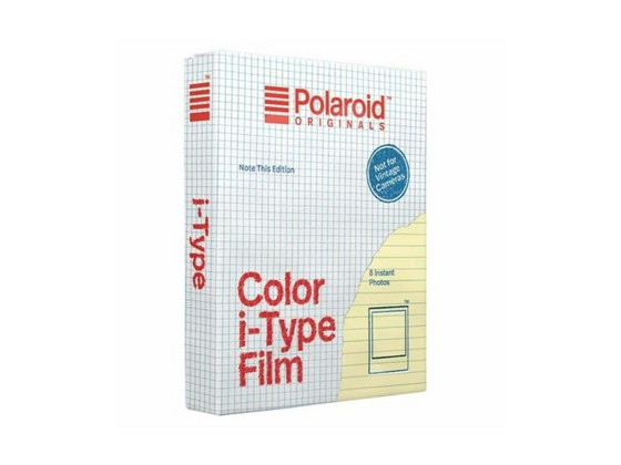 Korting Polaroid Color i Type Instant Film | Note