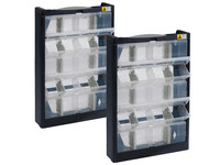 2x Allit VarioPlus DrawBox W 20 Box