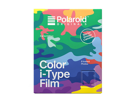 Korting Polaroid Color i Type Instant Film | Camo