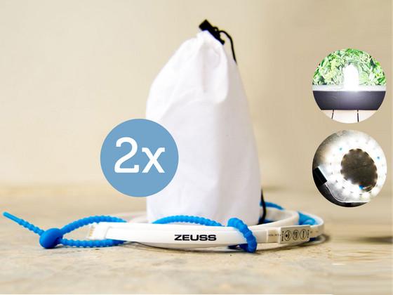 Korting 2x ZEUSS XR 7 USB LED Lichtsnoer