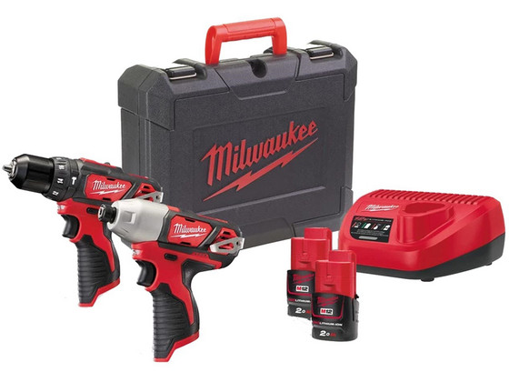 Milwaukee M12BPD M12BID | 2 x 2.0 Ah