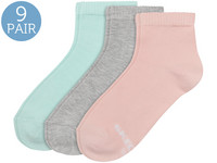 9x Skechers Basic Kurzsocken