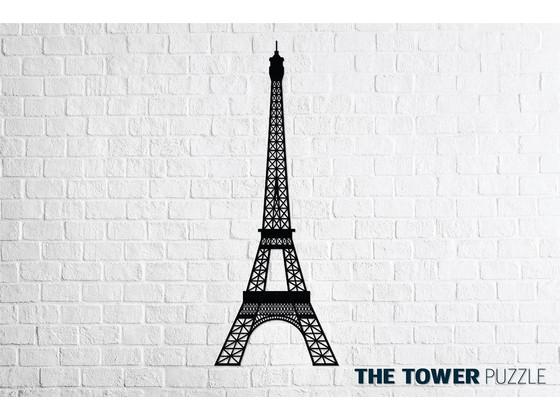 Korting Eco Wood Art Eiffeltoren