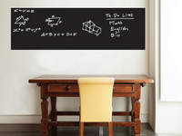 Walplus Muursticker | Blackboard of Whiteboard