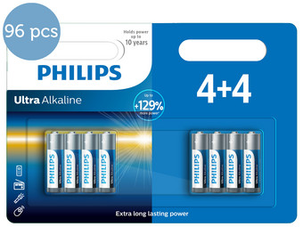 96x Philips Ultra Alkaline | AAA