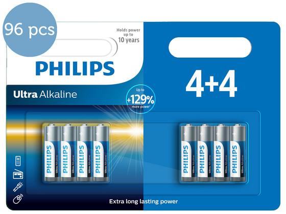Korting 96x Philips Ultra Alkaline | AAA