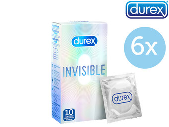 60 prezerwatyw Durex Invisible