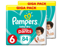 Pampers Baby-Dry Pants | Gr. 6 | 168 St.