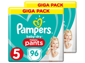 Pampers Baby-Dry Pants | Gr. 5 | 192 St.