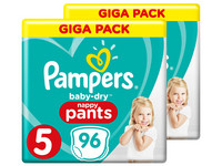 Pampers Baby Dry Pants | Maat 5 | 192 st.
