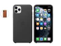 iPhone 11 Pro Max Leren Case