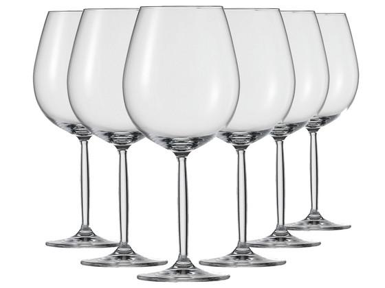 Korting 6x Schott Zwiesel Rodewijnglas