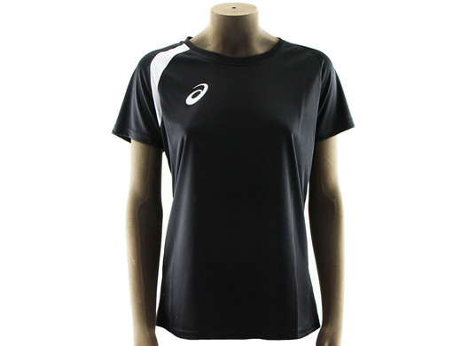 Asics Sportshirt für Damen, Schwarz, M - Internet's Best Online ...