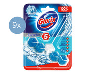 9x Glorix Power WC-Blok | Power Ocean
