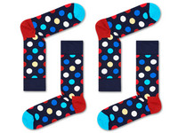 2 Paar Happy Socks | Big Dot | 41-46