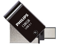 Philips 2-in-1 USB 3.1/USB C | 128 GB
