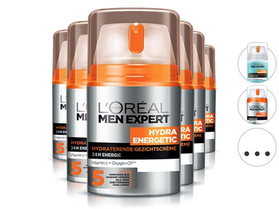 6x L'Oréal Skincare for Men