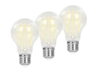 3x Smart Lamp | 7 W | WW Filament