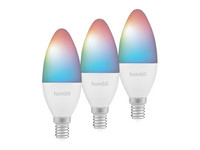 3x Hombli Wit & Kleur Dimbaar Smart Led