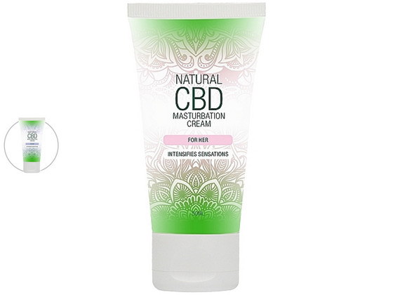 Korting Shots Natural CBD Masturbatiecrème