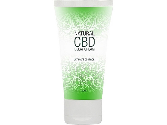 Korting Shots Natural CBD Orgasm Delay Crème