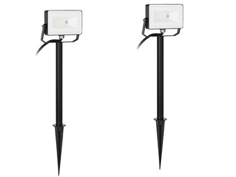 2x Smartwares Led RGB Floodlight | 10 W
