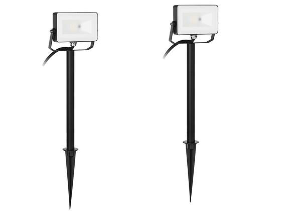 Korting 2x Smartwares Led RGB Floodlight   10 W