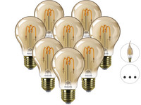 8x żarówka LED Philips Classic SP Gold LED