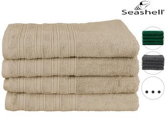 4x Seashell Luxor Hotel Deluxe Handdoek | 70 x 140 cm