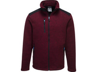 Portwest Fleecejacke | Red Marl