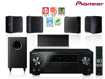 Pioneer Home Theatre 3D AV Receiver m  5 1 Surround Set