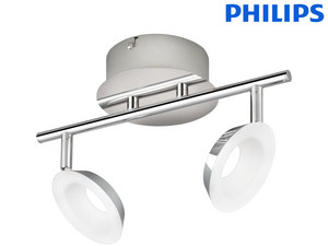 Philips Armatuur | Chroom | 2x 5 W