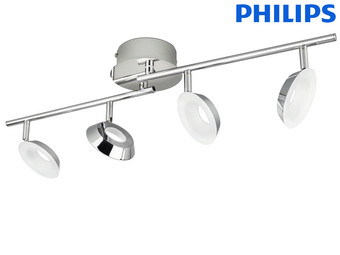 Philips Mackinaw LED-Spots | 4x 5 W | 9 V