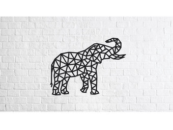 Eco-Wood-Art Olifant