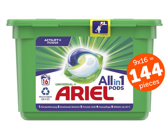 144 x kapsułka do prania Ariel All-in-1 Universal