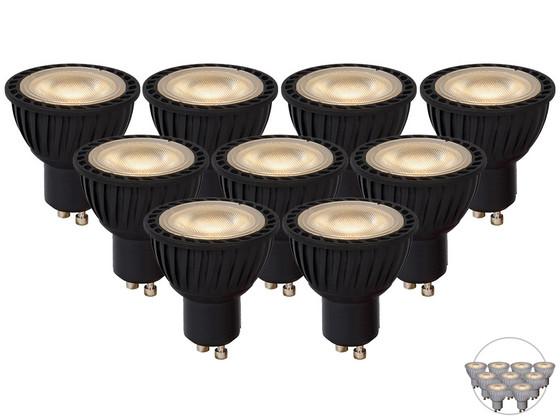 Korting 9x Lucide LED Spot (GU10)