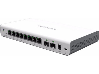 NETGEAR GC110 Switch | 8-Port + 2x SFP