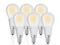 6x Osram 5 W LED Lamp | Dimbaar