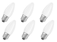 6x Osram LED-Glühbirne | 2.700 K | IP65