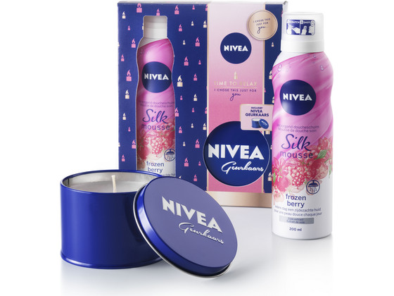 Korting Nivea Time To Relax Giftset