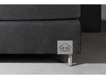 Skully Boxspring + Hockers | 180 x 200 cm
