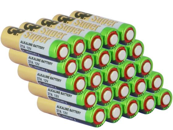 Korting 25x Super Alkaline Batterij | 27 A | 1,5 V