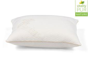 Vitality Pur Air Comfort Bamboo Hoofdkussen | 50x60 cm | Traagschuim