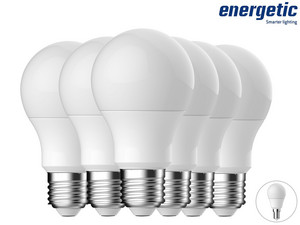 6x Energetic LED-Glühbirne (E27 / E14)
