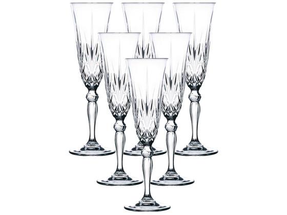 Korting 6x RCR Melodia Champagneglas
